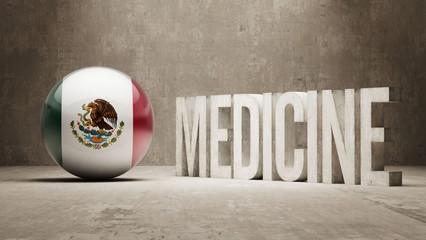 Mexico. Medicine Concept.