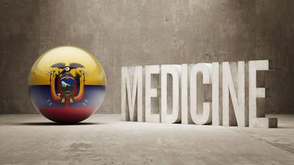 Ecuador. Medicine Concept.