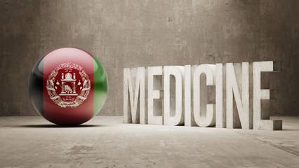 Afghanistan. Medicine Concept.