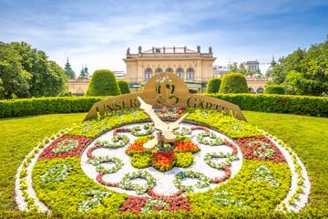 Blumenuhr, Wiener Stadtpark