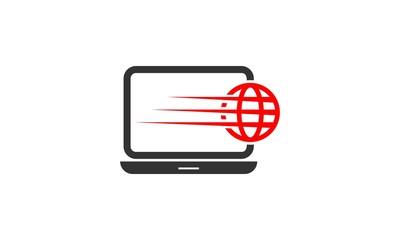 Fast Web Internet Logo