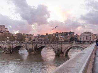 Roma, ponte S Angelo