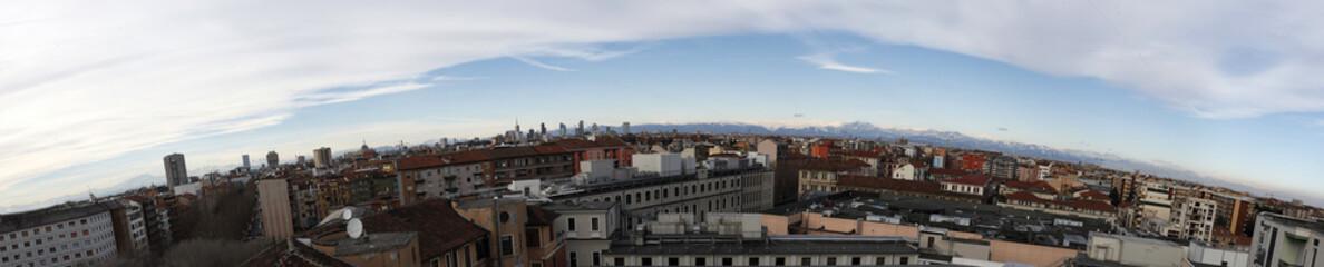 Panoramica su Milano