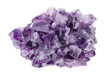 Amethyst Directly Above Over White Background - 77827808