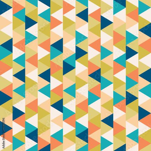 Plexiglas Kunstmatig seamless geometric pattern