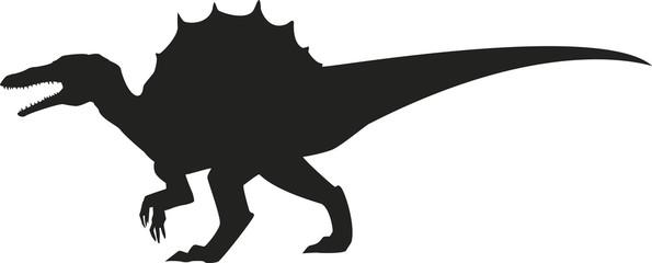 Spinosaurus silhouette