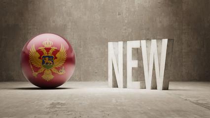 Montenegro. New Concept.