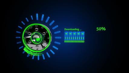 Quick Download Wheel