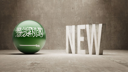 Saudi Arabia. New Concept.