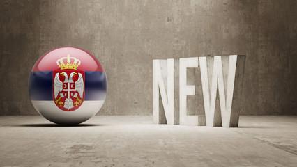 Serbia. New Concept.