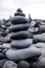 Stones' pyramid