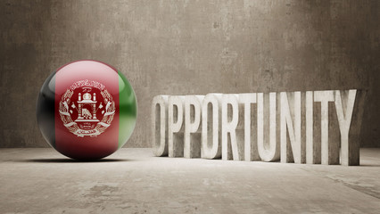 Afghanistan. Opportunity Concept.
