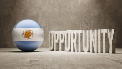 Argentina. Opportunity Concept.