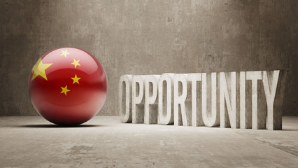 China. Opportunity Concept.