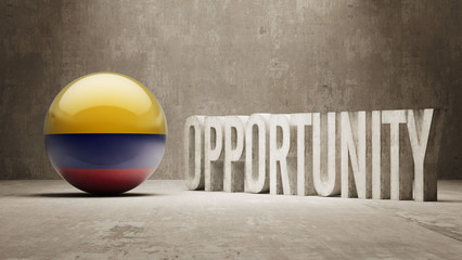 Colombia. Opportunity Concept.