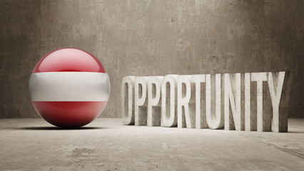 Austria. Opportunity Concept.