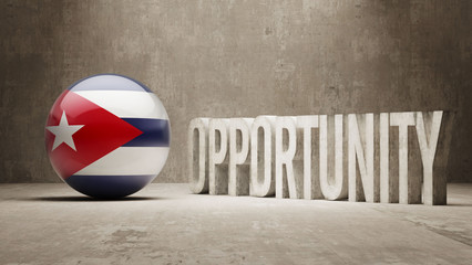 Cuba. Opportunity Concept.