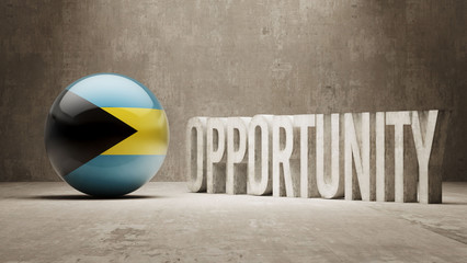 Bahamas. Opportunity Concept.