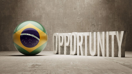 Brazil. Opportunity Concept.