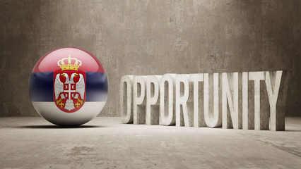 Serbia. Opportunity Concept.