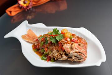 Thai Tamarind Red Snapper