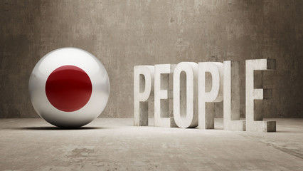 Japan. People Concept.