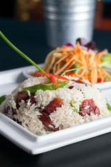Thai Pork and Rice Dish