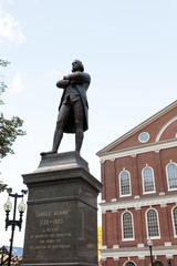 Samuel Adams Statue Boston