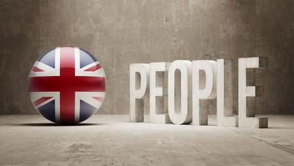 United Kingdom. People Concept.