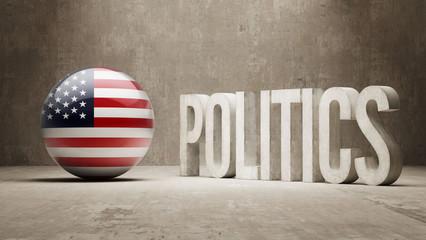 United States. Politics Concept.