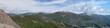 Leinwanddruck Bild - Panoramatic view from Hintertux in summer