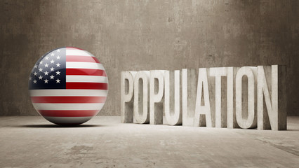 United States. Population Concept.