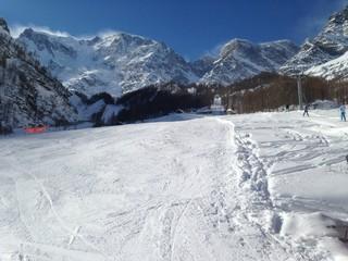 pista da sci cime ventose