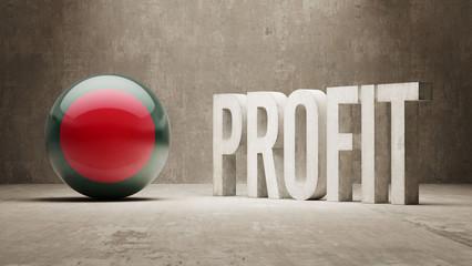Bangladesh. Profit Concept.