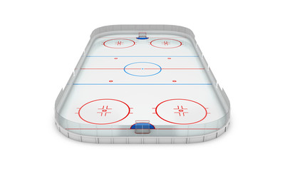Ice hockey area