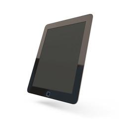 Modern black tablet pc