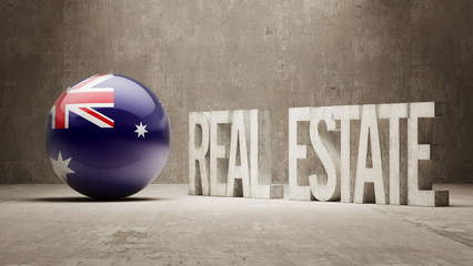 Australia. Real Estate Concept.