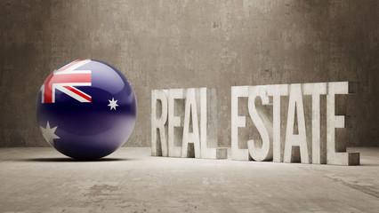 Australia. Real Estate Concept.