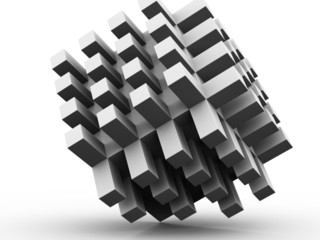 Unity Abstract 3D Grey