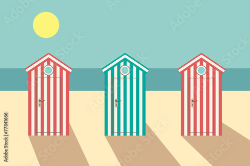 Vintage beach - 77841666