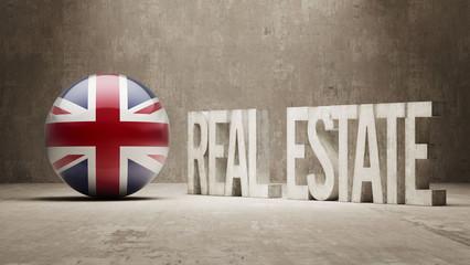 United Kingdom. Real Estate Concept.