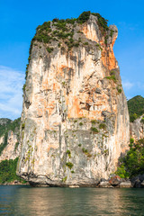 Rocks of Ao Nang, Krabi province, Thailand