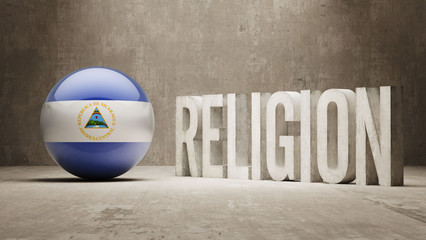 Nicaragua. Religion Concept.
