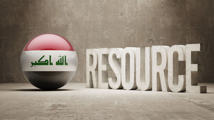 Iraq. Resource Concept.