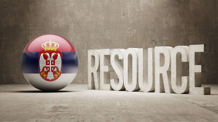Serbia. Resource Concept.