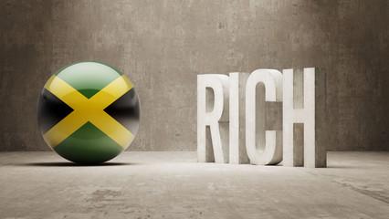 Jamaica. Rich Concept.