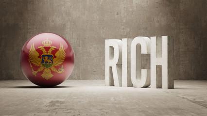 Montenegro. Rich Concept.