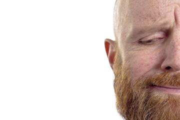 disbelieve bald man
