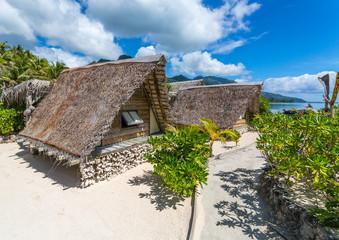 Cabanes en Polynésie