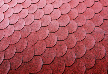 Roof tiles backround